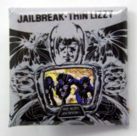 Thin Lizzy - 'Jailbreak' Square Badge